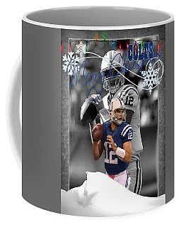 Indianapolis Colts Christmas Card Coffee Mug