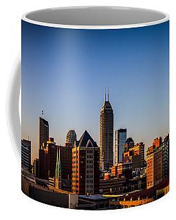 Indianapolis Skyline - South Coffee Mug