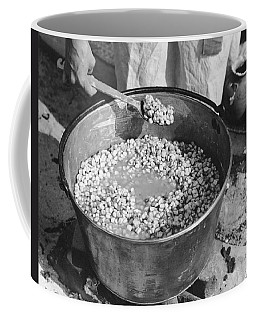 Indians Cooking Corn Coffee Mug