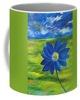 Indigo Blue - Sunflower Coffee Mug