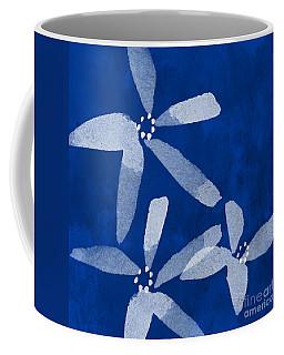 Indigo Flowers Coffee Mug