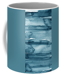 Indigo Water- Abstract Painting Coffee Mug