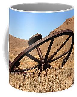 Industrial Wheel Coffee Mug