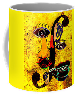 Infected Picasso Coffee Mug by Ally  White
