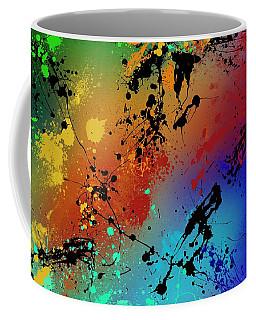 Brush Stroke Coffee Mugs