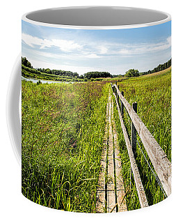 Coffee Mug featuring the photograph Infinity Way by Leif Sohlman