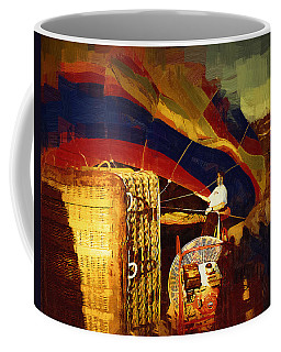 Coffee Mug featuring the digital art Inflating by Kirt Tisdale