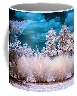 Infrared Bushes Coffee Mug