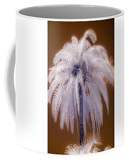 Infrared Palm Tree Coffee Mug