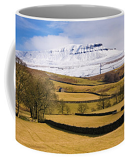 Coffee Mug featuring the photograph Ingleborough by Susan Leonard