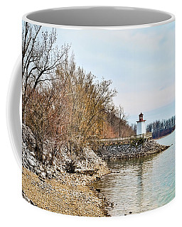 Coffee Mug featuring the photograph Inlet Lighthouse 2 by Greg Jackson