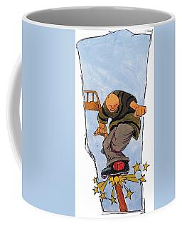 Inline Skates Rail Grind Coffee Mug