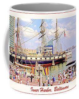 Inner Harbor Baltimore Maryland Coffee Mug