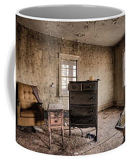 Inside Abandoned House Photos - Old Room - Life Long Gone Coffee Mug