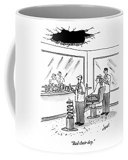 Inside Of A Barbershop There Is A Hole Coffee Mug