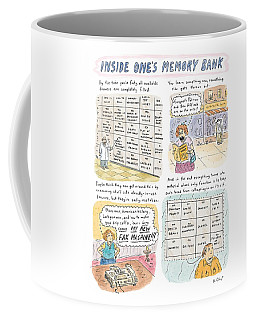 'inside One's Memory Bank' Coffee Mug