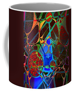 Inside Out Coffee Mug by Ally  White