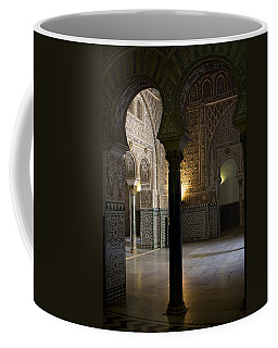 Inside The Alcazar Of Seville Coffee Mug
