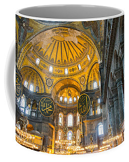 Inside The Hagia Sophia Istanbul Coffee Mug
