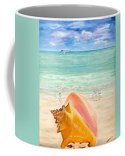 Inside The Head Of A Conch Woman Coffee Mug