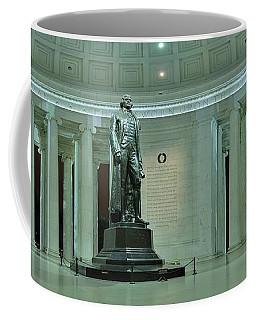 Inside The Jefferson Memorial Coffee Mug