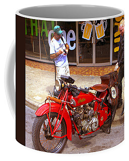 Inspecting Indian #70 Coffee Mug