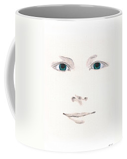 Coffee Mug featuring the drawing Inspiration by Stephanie Grant