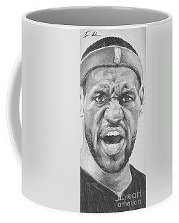 Intensity Lebron James Coffee Mug