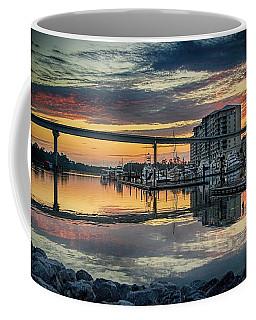 Intercoastal Waterway And The Wharf Coffee Mug