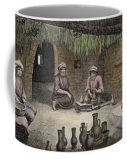 Interior Of A Potters Workshop Coffee Mug