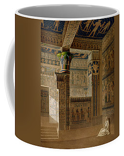 Interior View Of The West Temple Coffee Mug
