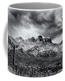 Coffee Mug featuring the photograph Into Clouds by Mark Myhaver