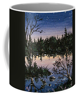 Into The Gloaming Coffee Mug by Megan Walsh