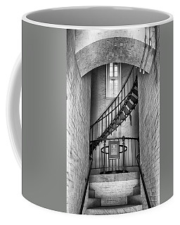 Coffee Mug featuring the photograph Into The Light by Howard Salmon