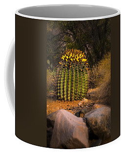 Coffee Mug featuring the photograph Into The Prickly Barrel by Mark Myhaver