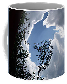 Into The Sky Coffee Mug by Aimee L Maher Photography and Art Visit ALMGallerydotcom