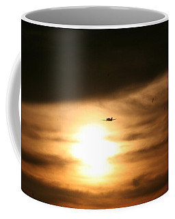 Coffee Mug featuring the photograph Into The Sun by David S Reynolds