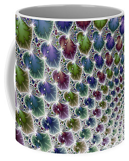 Into The Vortex Colorful Fractal Art Coffee Mug