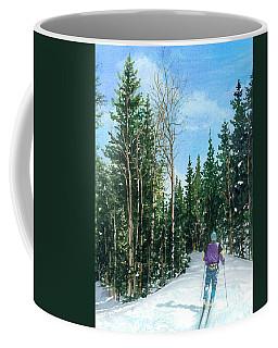 Into The Woods Coffee Mug by Barbara Jewell