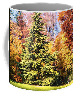 Into The Woods Coffee Mug by Muhie Kanawati
