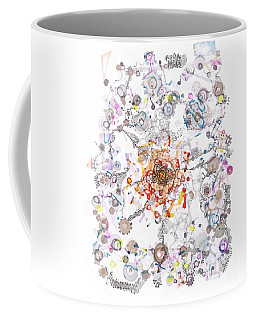 Intracellular Diversion Coffee Mug by Regina Valluzzi