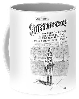 Introducing Superegoman! Coffee Mug