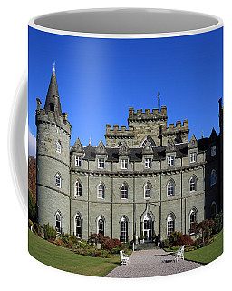 Coffee Mug featuring the photograph Inveraray Castle by Maria Gaellman