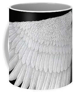 Coffee Mug featuring the painting Inward Flight by Pat Erickson