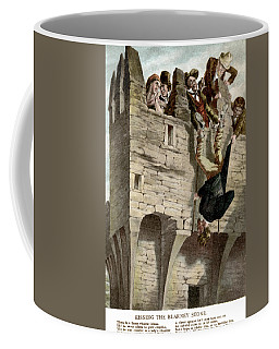 Coffee Mug featuring the painting Ireland The Blarney Stone by Granger
