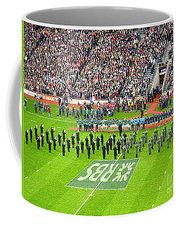 Coffee Mug featuring the photograph Ireland Vs France by Suzanne Oesterling