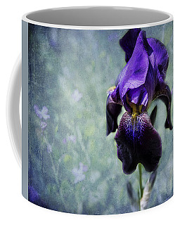 Iris - Purple And Blue - Flowers Coffee Mug
