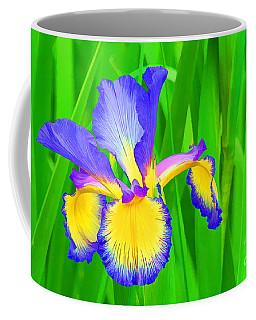 Iris Blossom Coffee Mug