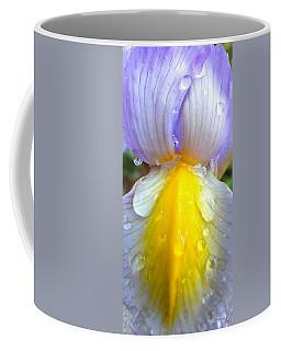 Iris Flower Petal Upclose Coffee Mug