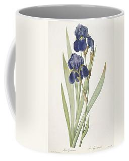 Iris Germanica Bearded Iris Coffee Mug